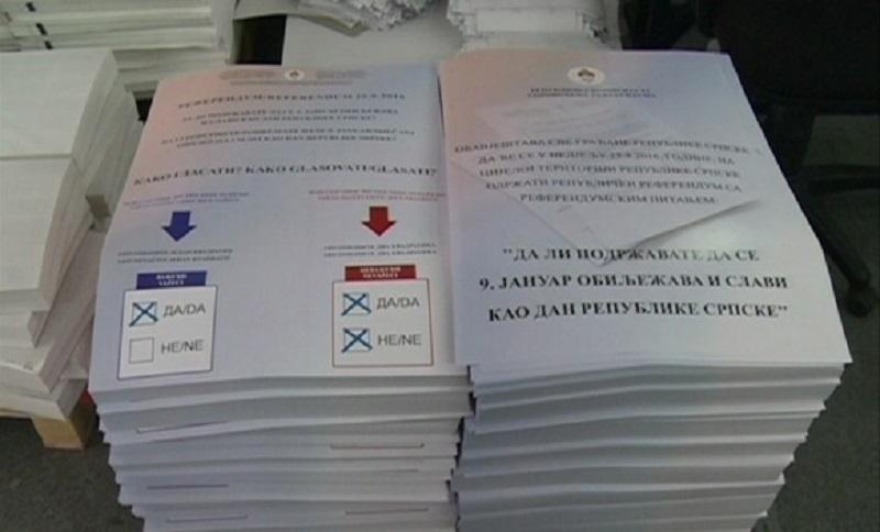 Sutra referendum o Danu Republike Srpske