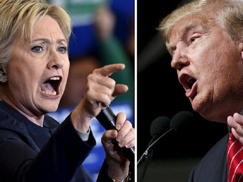 Tramp ili Hilari izjednačeni: Sve je spremno za prvu debatu