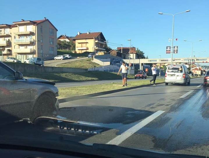 Banja Luka: Saobraćajka i zastoj na tranzitu – nema povrijeđenih