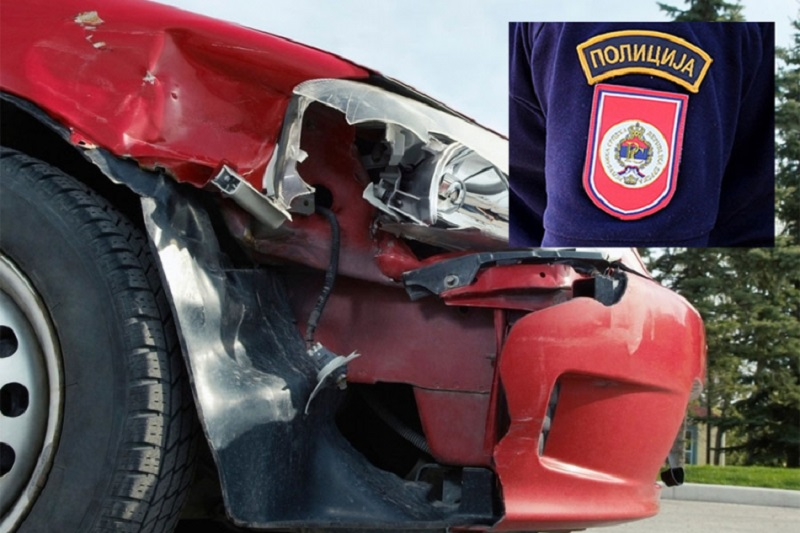 Doboj: Policajac pijan sletio autom pa napao vozača koji mu je htio pomoći!