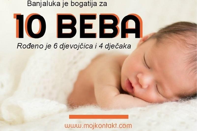 Lijepe vijesti iz porodilišta