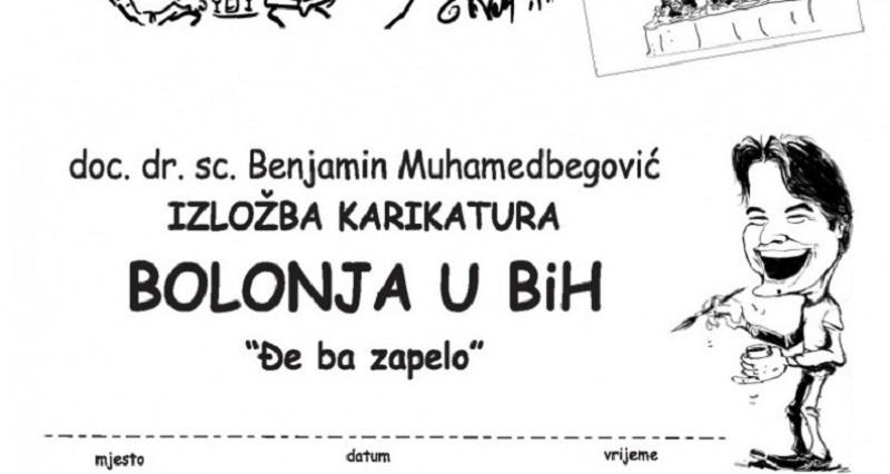 "Izložba karikatura Bolonja u BiH ""Đe ba zapelo""? u NPRS"