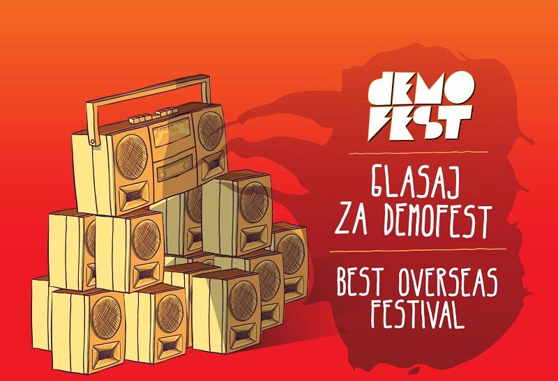 Demofest nominovan za prestižnu evropsku nagradu: Sada nam je potrebna vaša podrška!