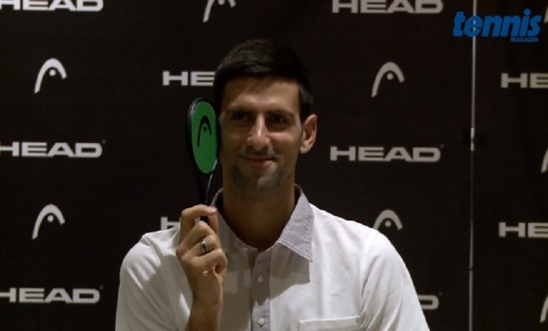 Novak Đoković intervjuisan bez riječi (VIDEO)