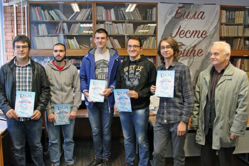 """Banjalučki gimnazijalci osvojili zlato na """"Tesla festu"""" u Novom Sadu"""