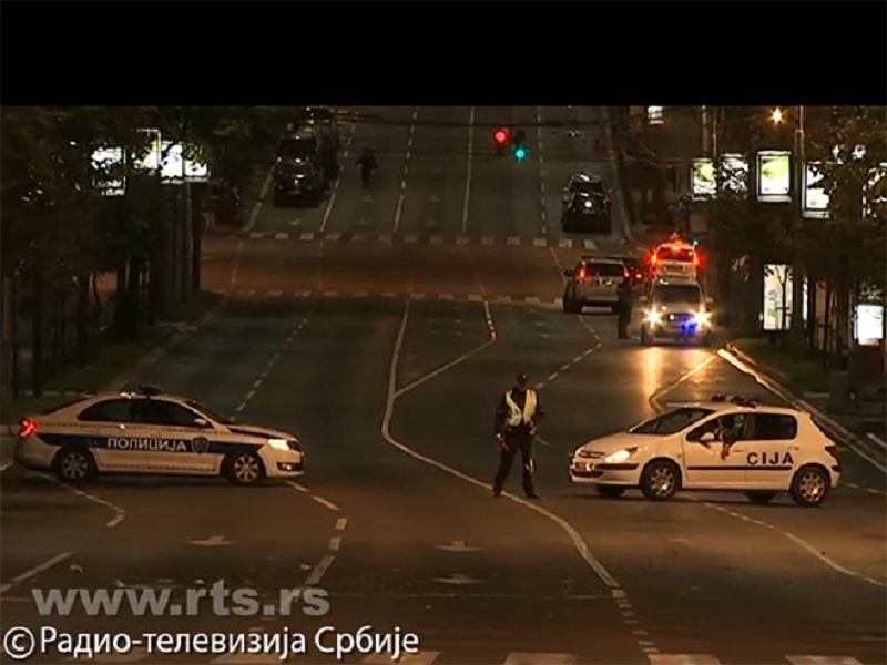 Uhapšen muškarac sa bombom, prijetio ispred Vlade Srbije