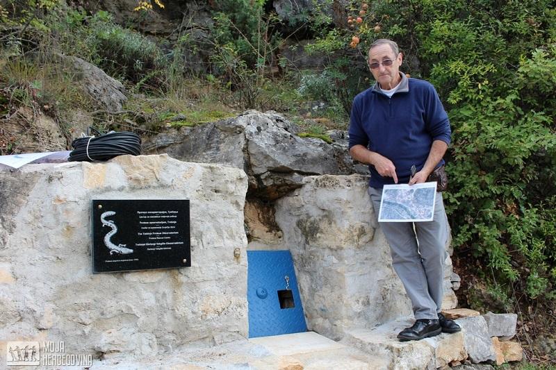 Trebinje: Napravljen prvi prirodni opservatorijum za čovječje ribice na svijetu