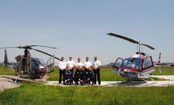 Бањалука - хеликоптерски сервис РС - посада