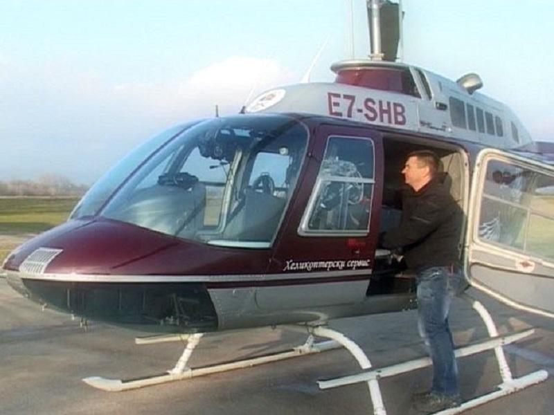 Helikopterski servis Srpske prevezao životno ugroženog pacijenta