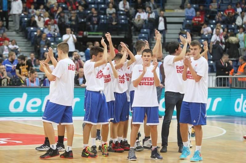 Kako su se mladi košarkaši iz Bileće proveli kao gosti KK Crvena zvezda