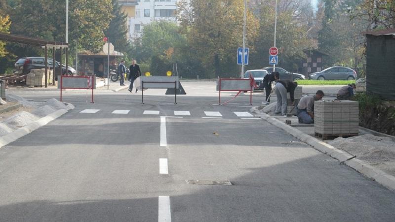 Pri kraju radovi u dijelu Jevrejske ulice