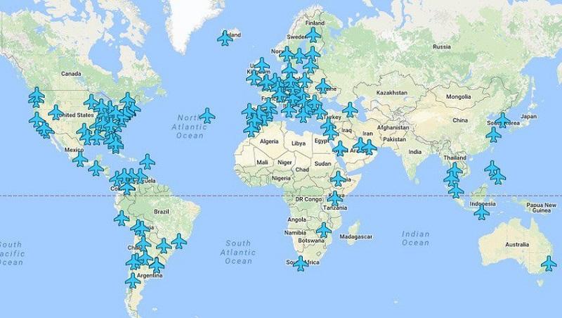 Objavljena mapa sa šiframa za Wi-Fi na aerodromima širom svijeta