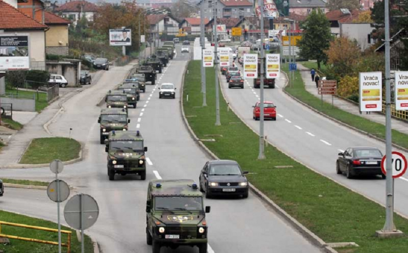 Vježba na Manjači okuplja 1.000 vojnika