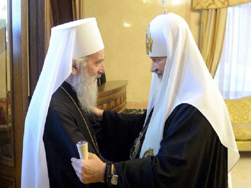 London: Sastali se patrijarh srpski Irinej i ruski Kiril