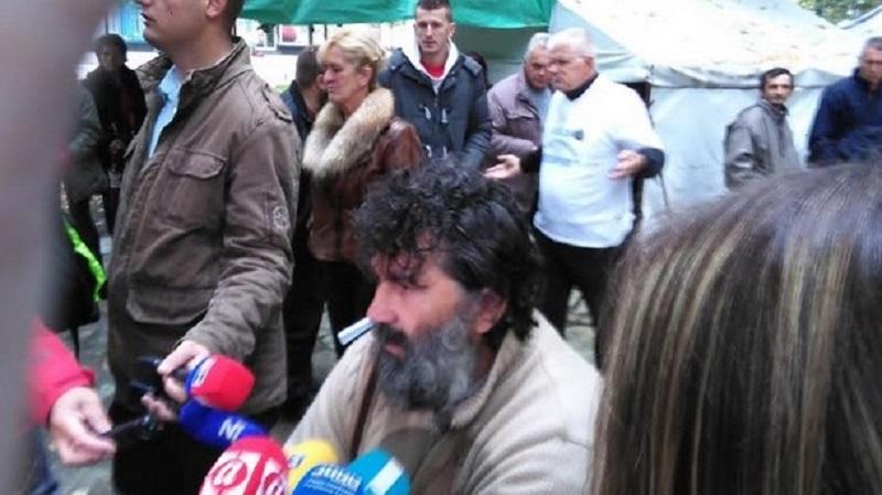 Banjaluka: Štrajkači ostaju u parku