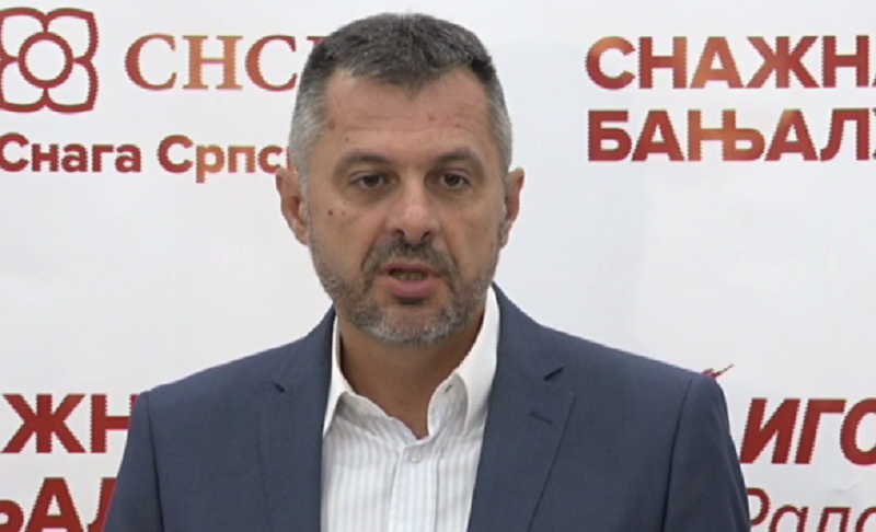 Radojičić najavio prve poteze nove vlasti u Banjaluci