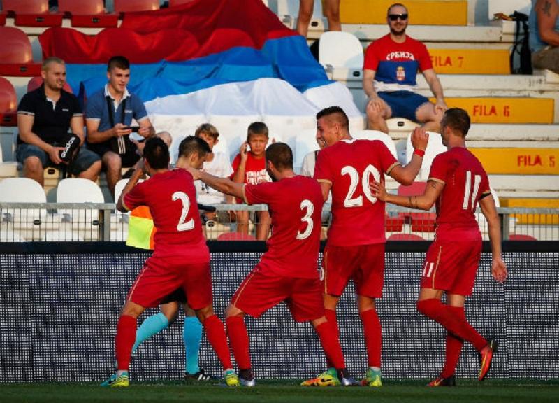 Mlada fudbalska reprezentacija Srbije danas protiv Slovenije
