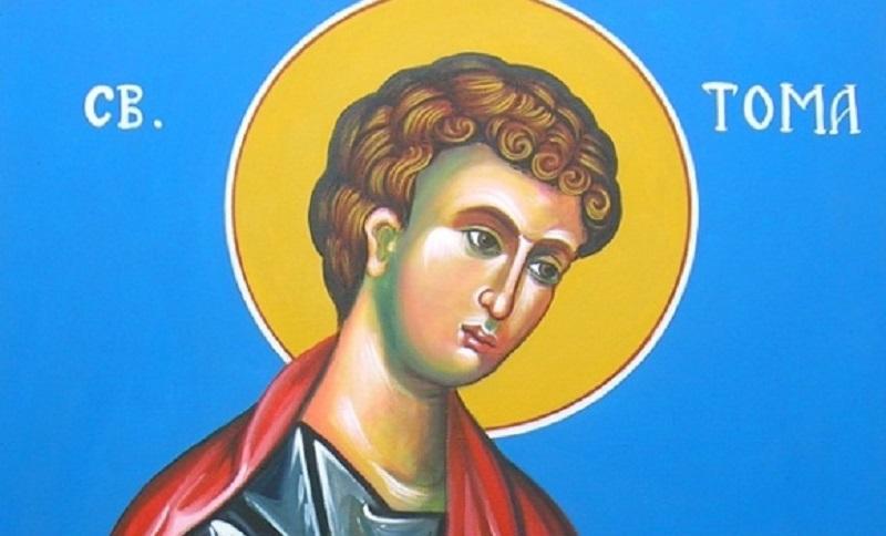 Pravoslavci danas slave Tomindan