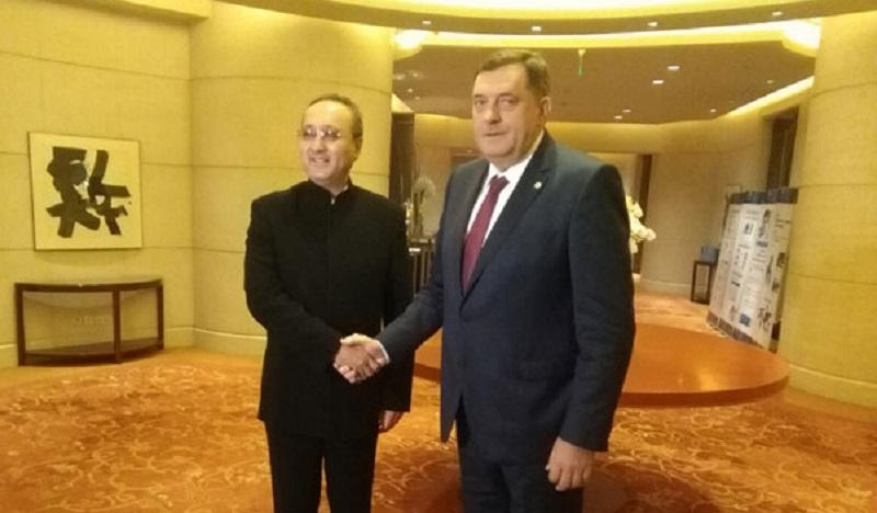 Dodik: Važno je da sarađujemo sa Komunističkom partijom Kine