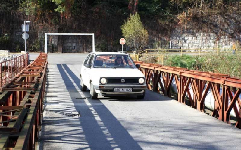 Banja Luka: Zbog rupa rizičan prelaz preko mosta u Srpskim toplicama