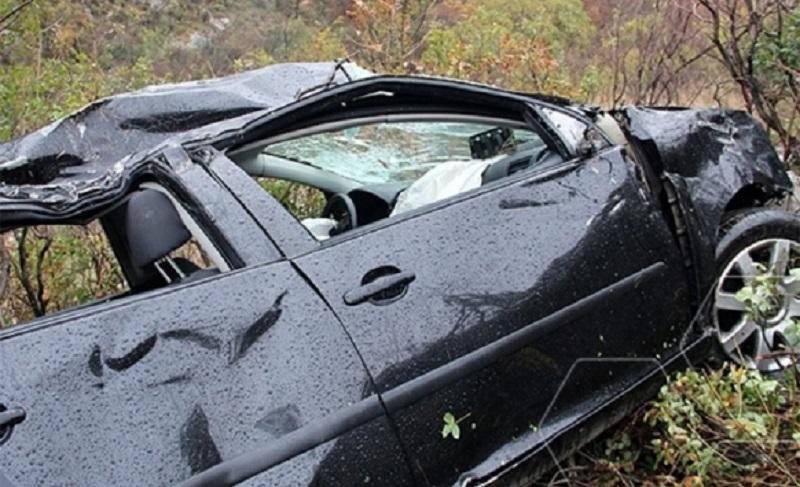Nova saobraćajka u kanjonu Vrbasa: Prevrnuo se automobil Rekavicama