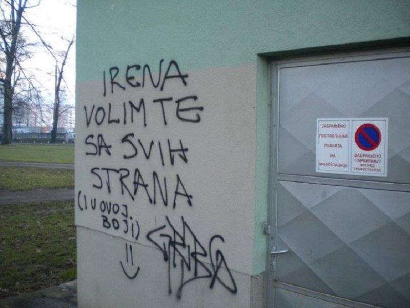 Banja Luka: Uklonjena tri grafita i naplaćene dvije kazne za šaranje