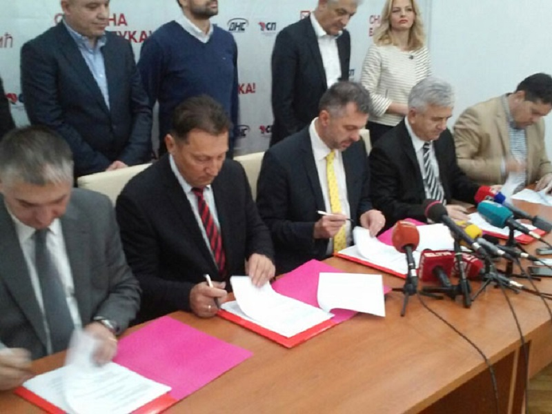 Banjaluka: Potpisan koalicioni sporazum o lokalnoj vlasti