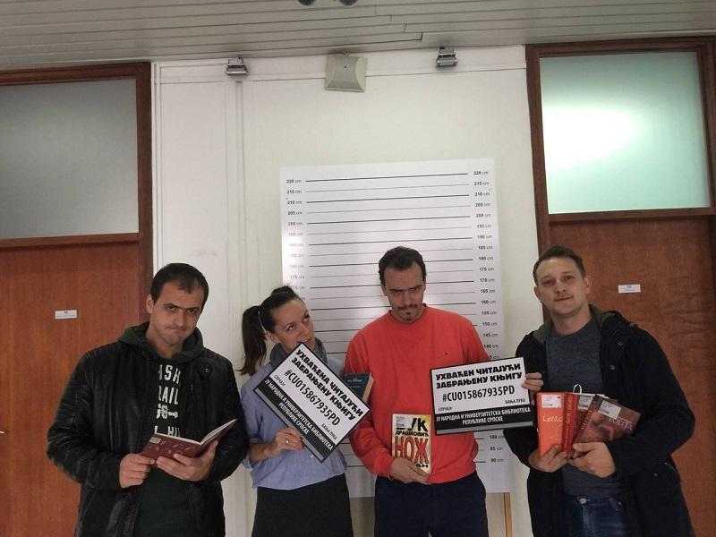 """Kontakt u biblioteci: I mi čitamo """"zabranjene"""" knjige! (FOTO)"""