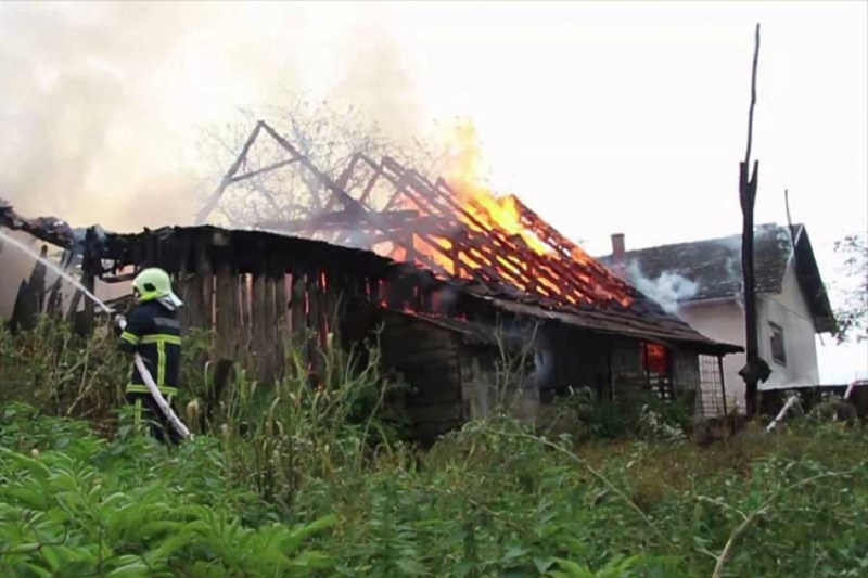 Prijedor: Izgorjela kuća, na zgarištu pronađeno tijelo