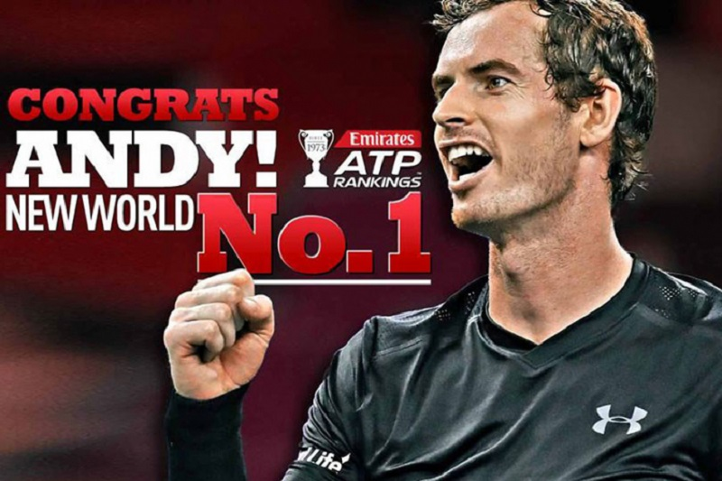 Došao je i taj dan, Marej prvi a Federer ni u top 10