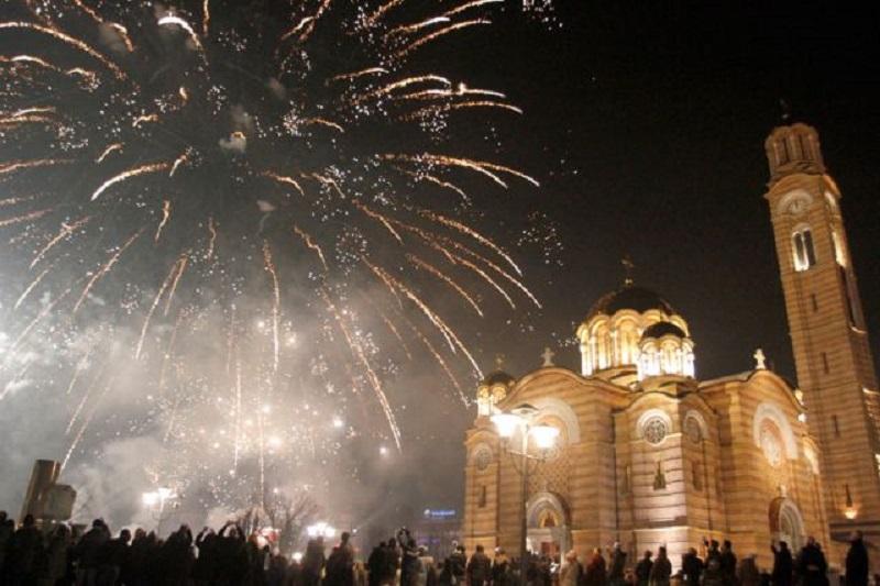 Širom Srpske doček Pravoslavne nove godine