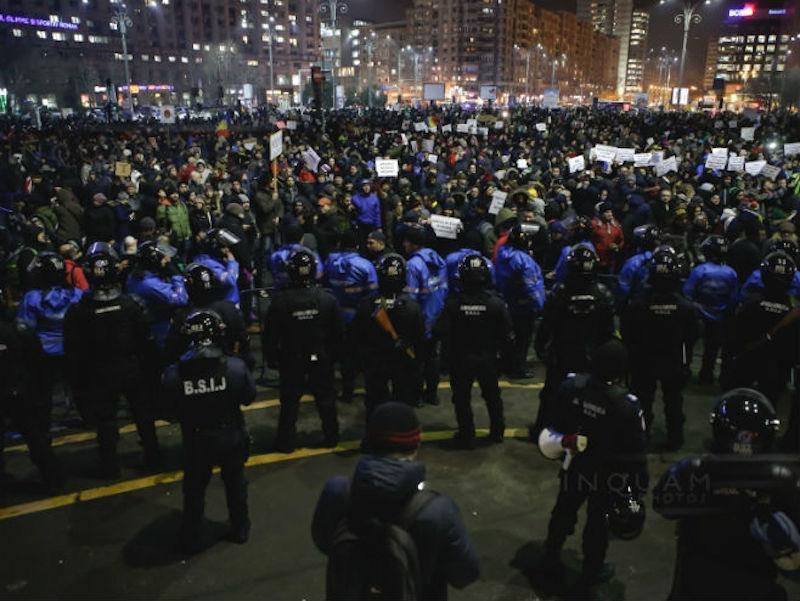 Nastavljeni protesti u Bukureštu