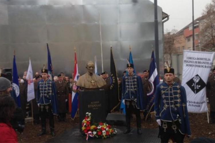 U Osijeku otkriven spomenik Alojziju Stepincu (VIDEO)