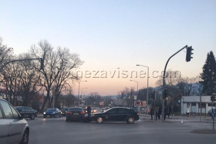 Udes u centru Banjaluke, usporen saobraćaj