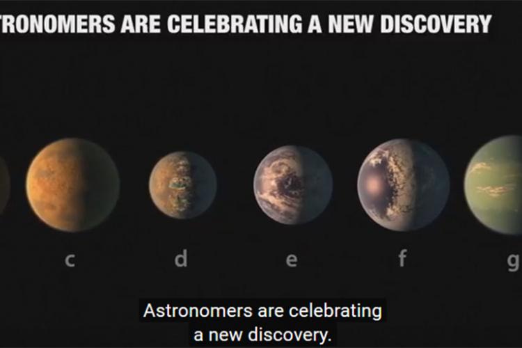 Otkriveno sedam planeta veličine Zemlje (VIDEO)
