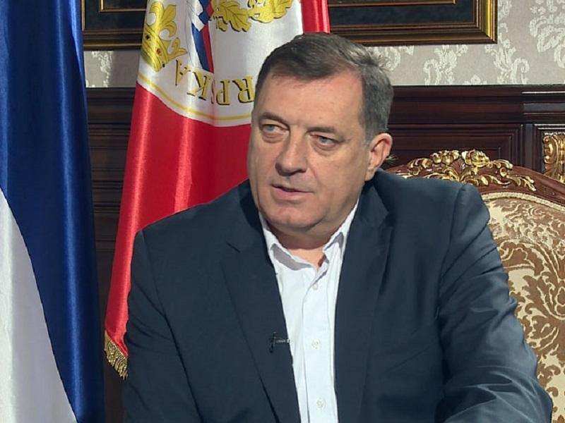 Dodik: Ne može samo srpsko nacionalno pitanje ostati neriješeno na Balkanu