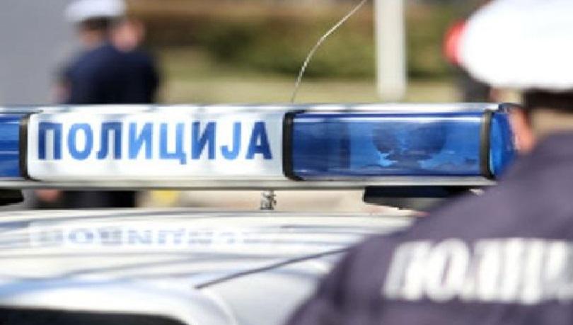 Policija na terenu, pješaci i vozači oprez