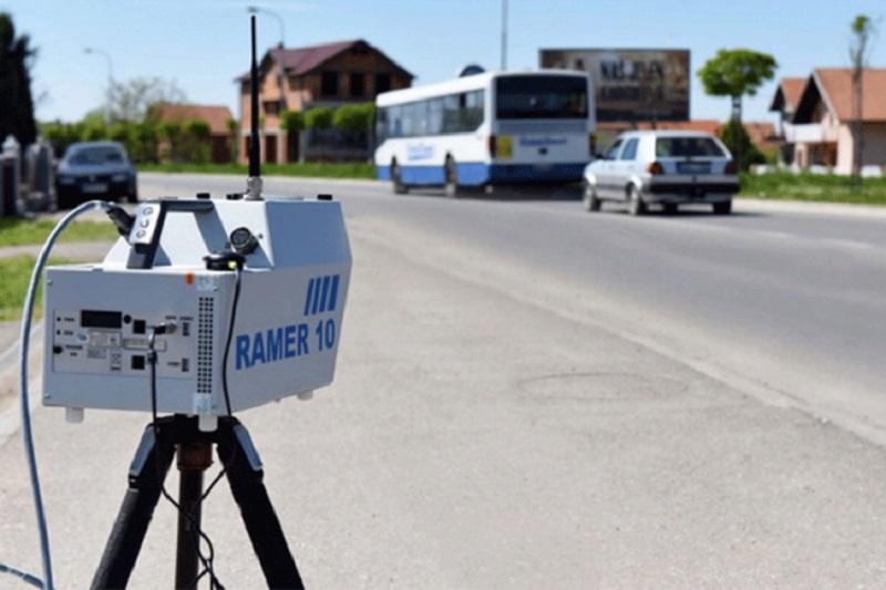 Pojačana kontrola brzine kretanja vozila radarskim sistemom