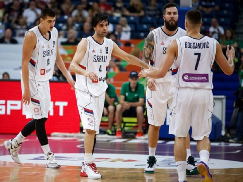 """""""Orlovi"""" Evrobasket 2017. otvaraju mečom protiv Letonije"""