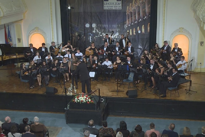 """Banjaluka: """"Koncert za zaljubljene"""" Gradskog tamburaškog orkestra"""