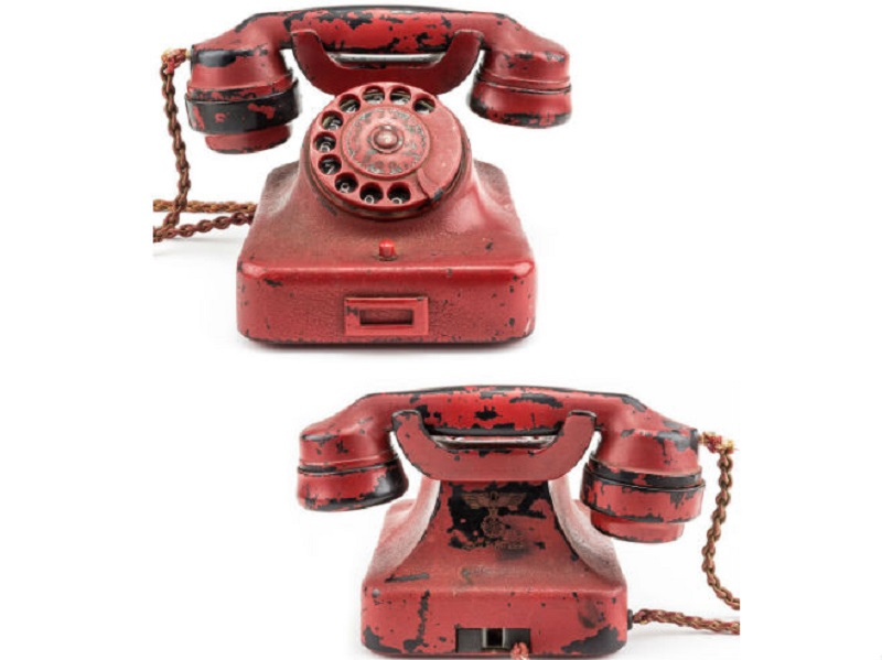 Hitlerov telefon prodat za 243.000 dolara