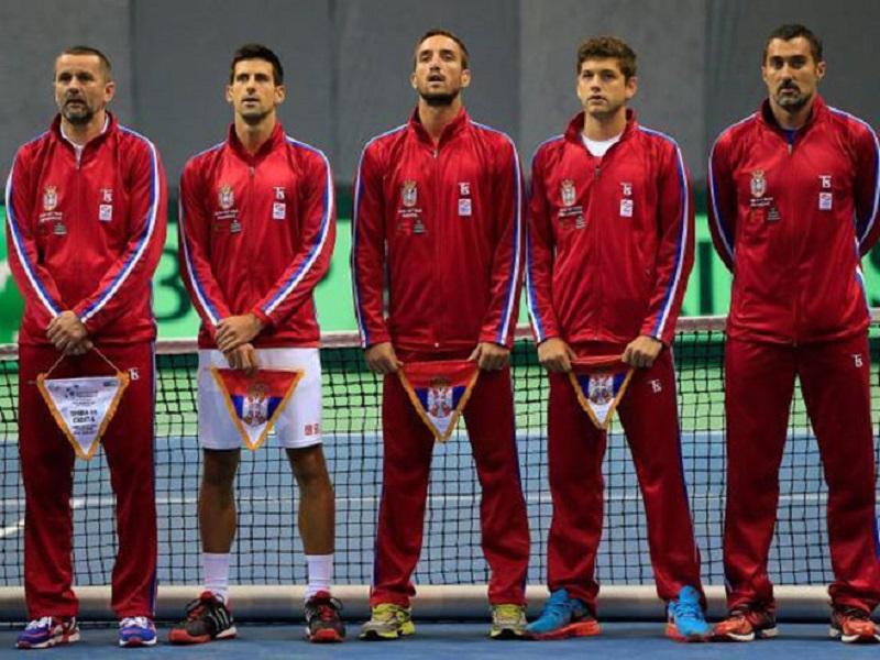 Teniseri Srbije danas protiv Rusije, u Dejvis kupu