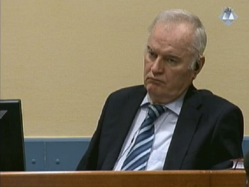 Rusija garantuje za generala Mladića da bude pušten na liječenje