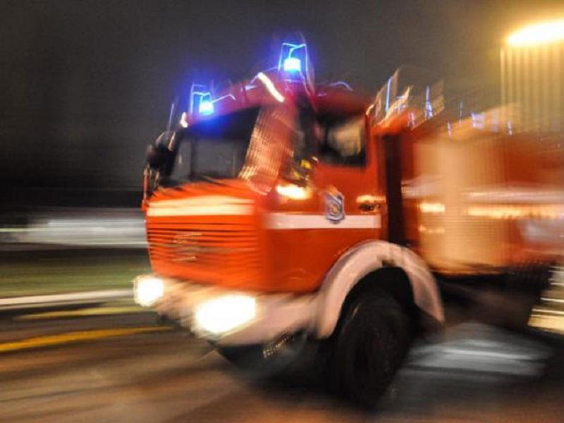 Banjaluka- Požar na auto-otpadu