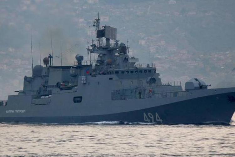 Ruski vojni brod krenuo ka Siriji