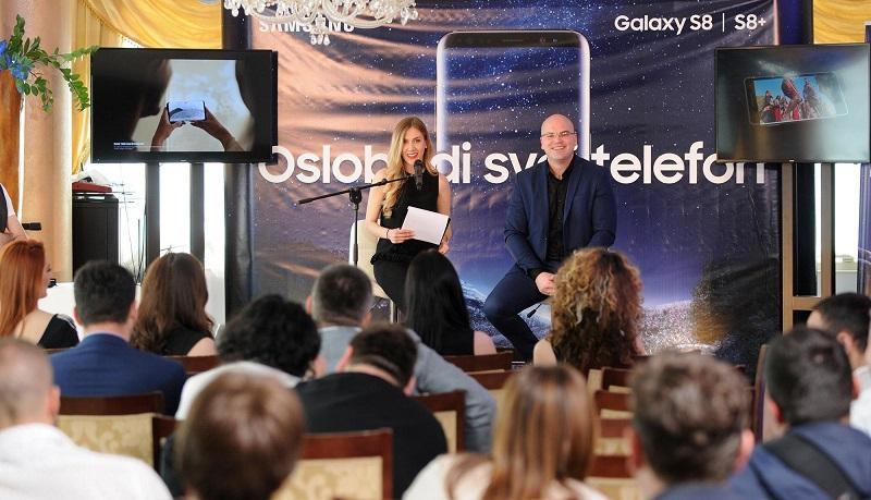 Samsung predstavio svoju perjanicu Galaxy S8 i S8+ u  Bosni i Hercegovini