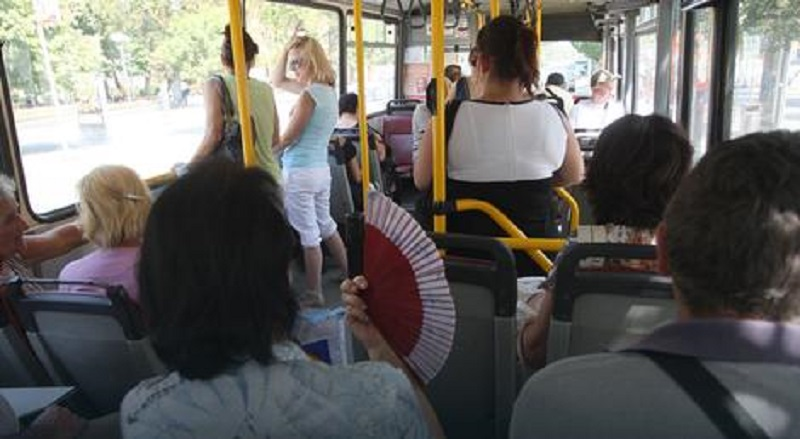 Nepodnošljive temperature u gradskom prevozu