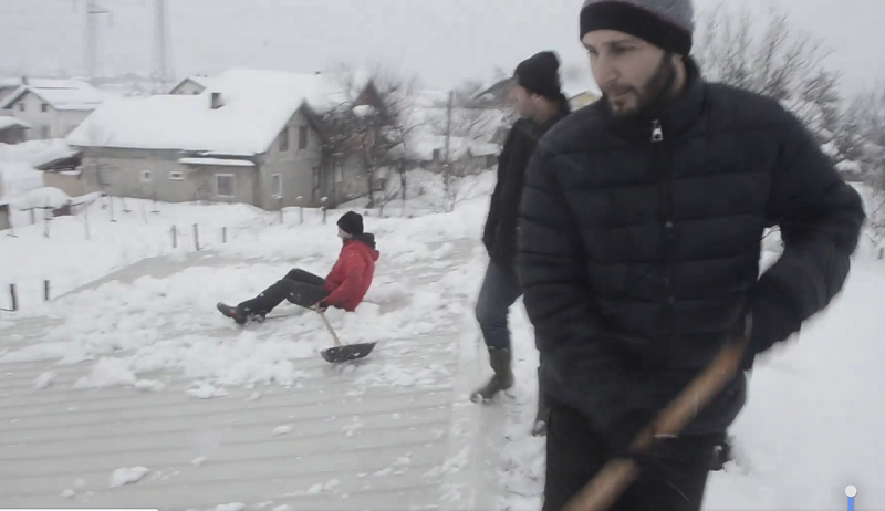 Snimak čišćenja snijega u Bihaću hit na društvenim mrežama