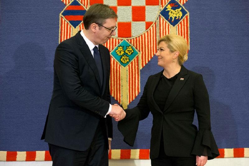 Grabar-Kitarović i Vučić nakon sastanka: Moramo imati mnogo bolje odnose, željeli to svi ili ne