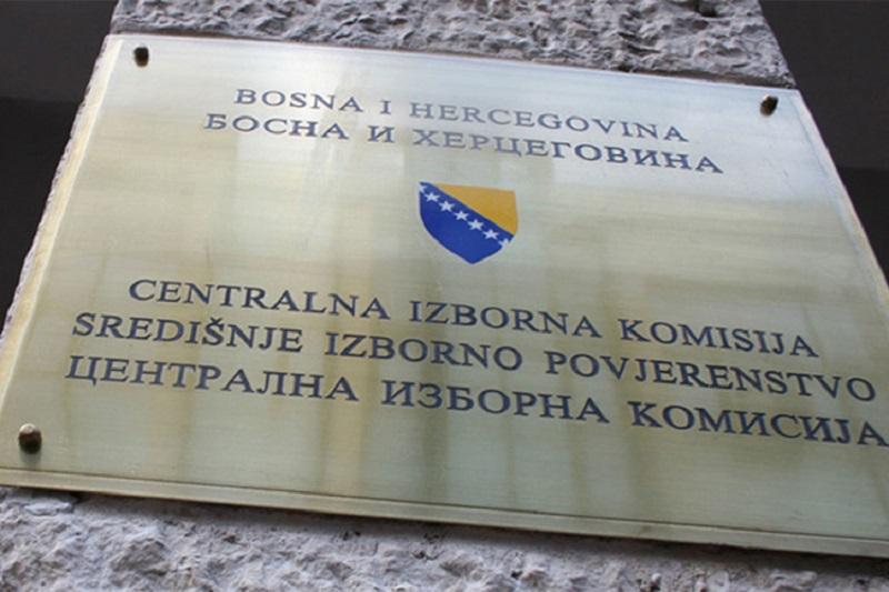 CIK BiH: Prijave za učešće na izborima predalo 27 stranaka i 16 nezavisnih kandidata